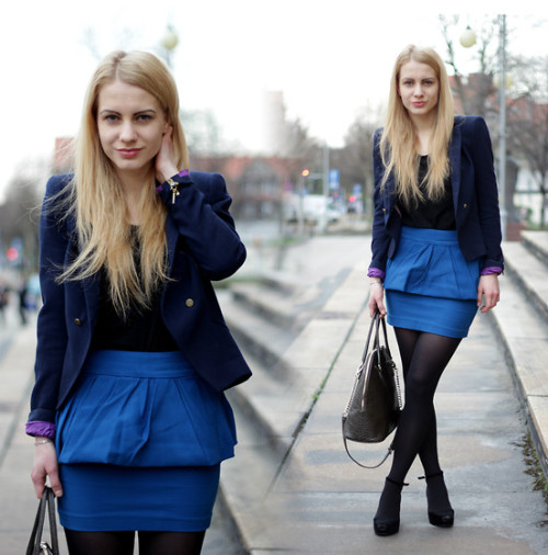 Peplum skirt (by Monica T.)