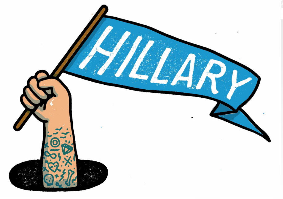 "For most of 2016, to be a vocal supporter of Hillary Clinton — in certain circles of Bernie Sanders-supporting progressives, anyway — was to be the square in the Lacoste shirt cast to the corner of the hipster prom. ""I was yelled at when I wore my..."