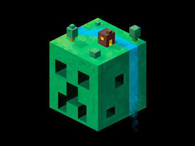 Minecraft  Created by arkzai