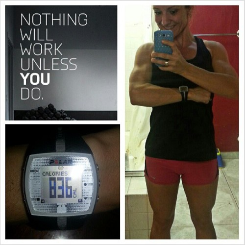 Monday workout → successful! Great start to the week. Sweating, burning and gasping for air ▶loves it. #monday #workout #gym #me #selfie #mirrorpic #calories #workforit #mondaymotivation #quads #shoulders #biceps #arms #smile #strong #muscle #woman #motivation #inspiration #fitfluential #fitchick #fitmom #fitspo #fitspiration #instagramfitness #instagood #instafit #love #fitness #health #bodytransformation #buildingmybody #onerepatatime