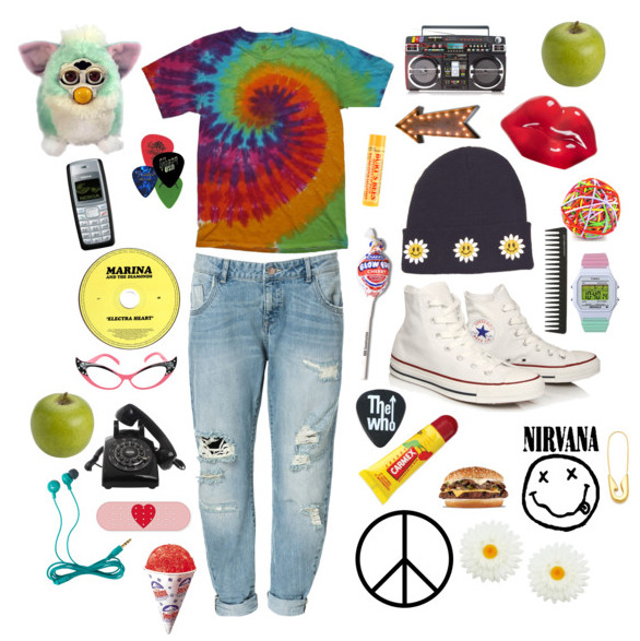 occupytheclouds:  my latest polyvore is feeling pretty 90's
