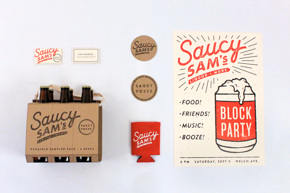 typethatilike:  Saucy Sam's alexregisterdesign.com