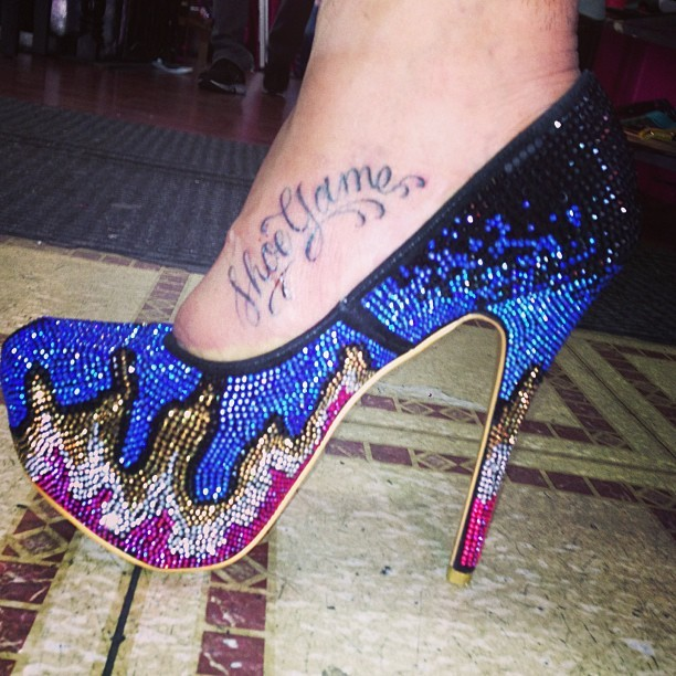 What do we think of this #shoegame ? 👠