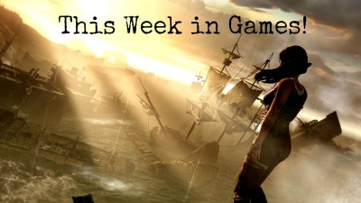 theomeganerd:  This Week in Games! ~  Week of March 3, 2013 Tuesday • Tomb Raider (PC, 360, PS3) • MLB 13 The Show (PS3, Vita) • MLB 2K13 (360, PS3) • Naruto Shippuden: Ultimate Ninja Storm 3 (360, PS3) • Naruto: Powerful Shippuden (3DS) • SimCity: Limited Edition (PC) • The Sims 3 University Life (PC/Mac) • The Amazing Spider-Man (Wii U) • Mass Effect 3: Citadel (XBL) • Mass Effect 3: Leviathan (PSN) • DmC: Vergil's Downfall (XBL) • The Showdown Effect (PC/Mac) • Atelier Ayesha: The Alchemist of Dusk (PS3) • Germinator (PS3) • Total War: Shogun 2 Gold (PC) • Heavy Fire: Shattered Spear (PC) • Masters of the World: Geopolitical Simulator 3 (PC) • Castlevania: Lords of Shadow Mirror Fate (3DS) • Bit.Trip Presents: Runner 2 Future Legend of Rhythm Alien (PSN) • Fuel Overdose (PSN)  Wednesday • Dollar Dash (PC) • DmC: Vergil's Downfall (PSN)  Thursday • Lego Lord of the Rings (Mac) • Kersploosh! (3DS) • War of the Roses: Brian Blessed (PC DLC)  Friday • Handball Challenge 2013 (PC)  Courtesy of Kotaku