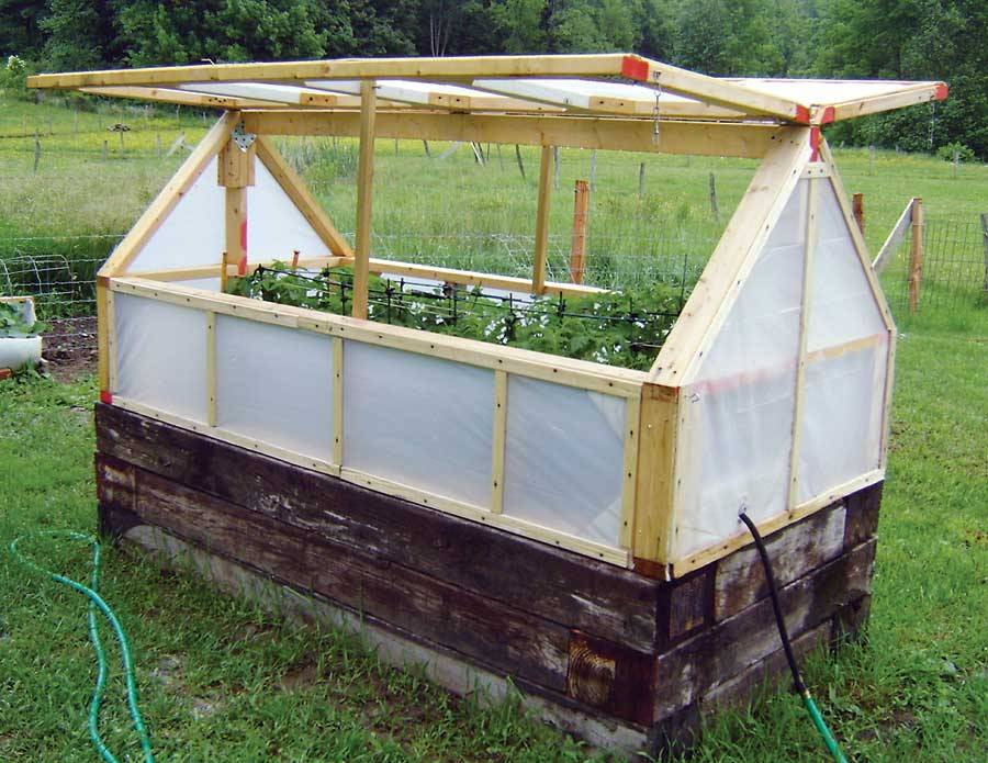 Motherearthnewsmag Inexpensive Mini Greenhouse