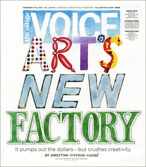 This week's cover story: How Uptown Money Kills Downtown Art
