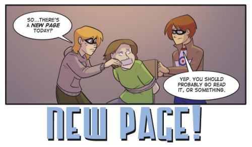 akawebcomic:  New A.K.A. Page! Page 35 NOTE: There will be NO UPDATE next Monday, May 27th. New pages will resume Monday, June 3rd. In the meantime, VOTE for A.K.A. on topwebcomics to see the new incentive!