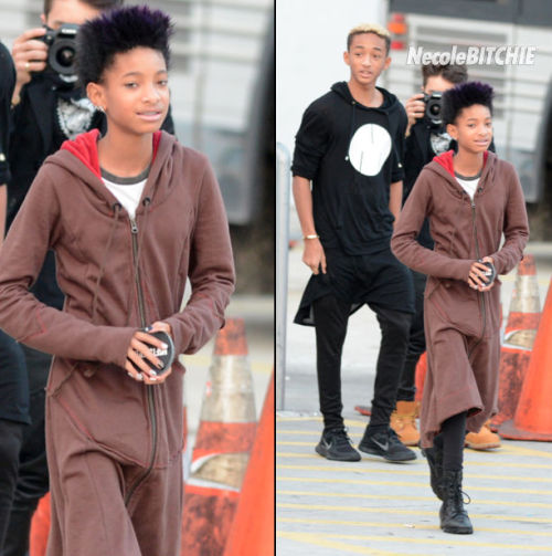 Willow & brother Jaden Smith