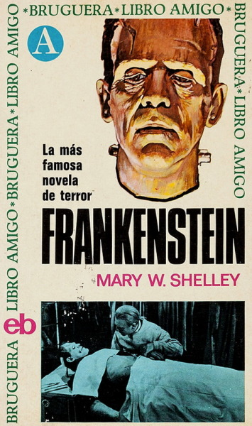 monsterman:   Frankenstein by Mary Shelley