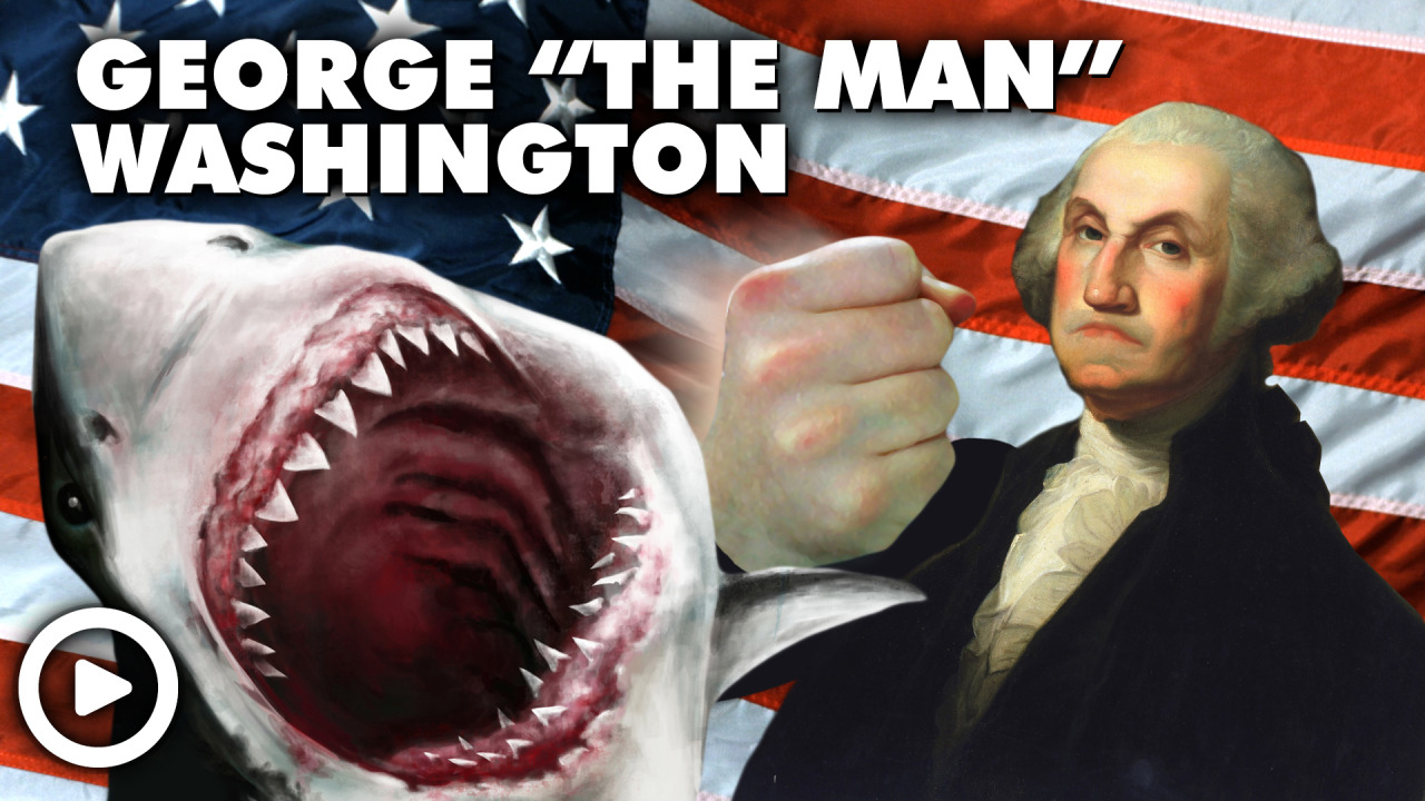 "New Episode of Laughing Historically!  We are talking George ""The Man"" Washington, a figure so epic they named a city, state, bridge, and wizards after him.  He may also have been The United States first president, I am not so clear on that one. Spoilers, this episode leads into our first cliffhanger ever! Share and Enjoy!"