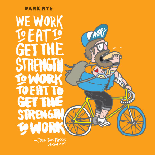 Read and watch more on work and reward at this month's DARK RYE. Carson, otherwise known as Chairman Ting, was voted as Canada's top 5 most creative person by Marketing Magazine and was also ranked among the top 200 best illustrators in the world by Lürzer's Archive magazine. His work is currently exhibited at the San Jose Tech Museum in California. Carson Ting for Dark Rye