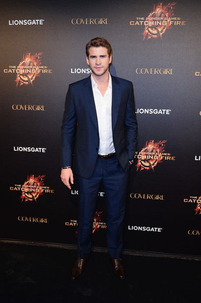 Liam Hemsworth attends The Hunger Games: Catching Fire Party during the 66th Annual Cannes Film Festival at Baoli Beach in Cannes, France. [May 18th, 2013]