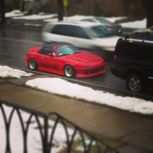Another #trpcrew roadster. Tony's #miata looking good.