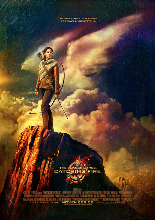 Katniss strikes a pose in new poster for The Hunger Games: Catching Fire We haven't heard much from The Hunger Games: Catching Fire for a little while, so it's nice to see Lionsgate keeping things ticking over with the release of a cool new poster for the upcoming sequel…