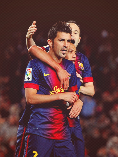 arsenal-gooner:  David Villa.