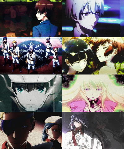 "roguecheneies:    Favourite Anime Openings | Kakumeiki Valvrave - Preserved Roses""I'll greet with open arms The new breaths of life Of the tomorrow that you see. Don't let go…"""