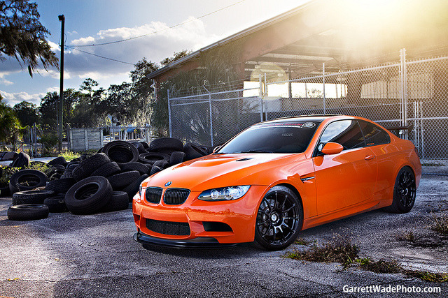 Definitely one of the coolest M3 shots ever!