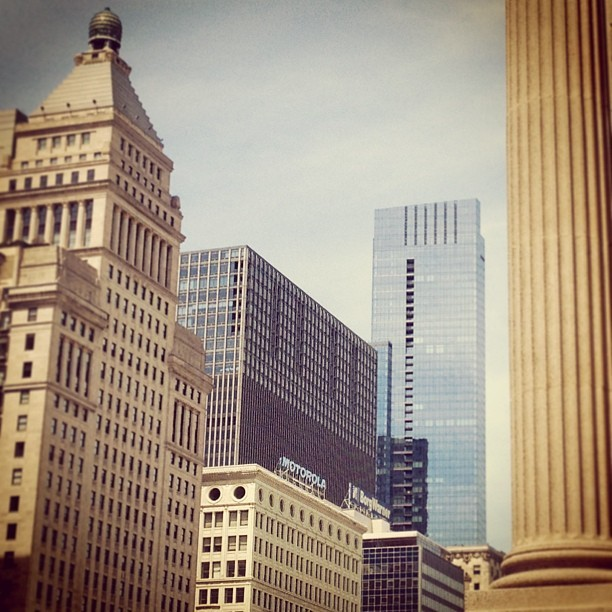 Michigan Avenue. #chicago #chitecture #architecture