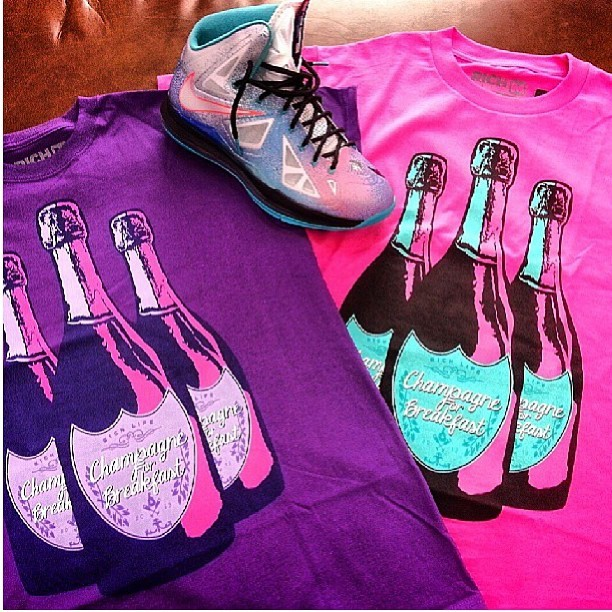 New #richlife #tees for men! Paired with #nike #lebronx #lebron10