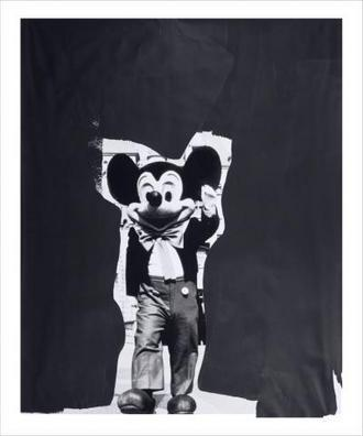 Paul McCarthy Mickey Mouse 2010 In case you need me, this is where you will find me.
