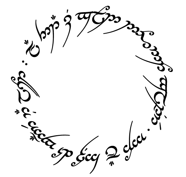 Tengwar Tutor All That Is Gold Does Not Glitter Not All Those
