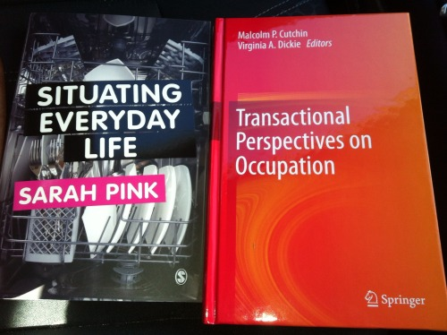 Books of Occupation  Received these today