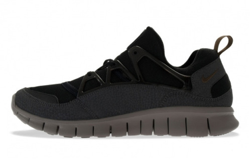 Nike Spring/Summer 2013 Haurache Light Free This year has seen the Huarache be pushed back into the limelight with several releases in varied silhouettes. Set to release this 2013 coming tomorrow, the Huarache Light Free in a black and grey colourway. It's been updated with the free sole and black and grey leather uppers.  Available to pre-order now.