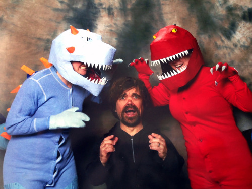 Just a casual photo with Peter Dinklage