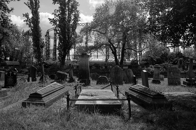 The dead lie down on Flickr.From Kensal Green Cemetery in London.
