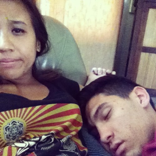 @tonyvalenciano always napping! 💤 #tired #ourdayofffromwork