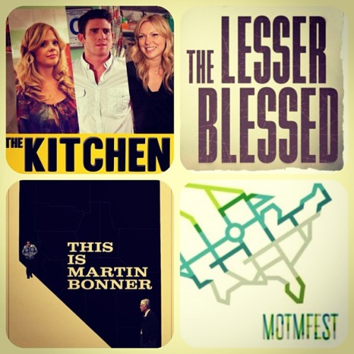 #TheKitchenFilm, #TheLesserBlessed and #ThisIsMartinBonner are all coming to #MiddleOfTheMapFest in #KansasCity starting tmrw May 2nd - May 5th. Come join us! #filmfest #filmfestival #film #indiefilms #mmi #montereymedia