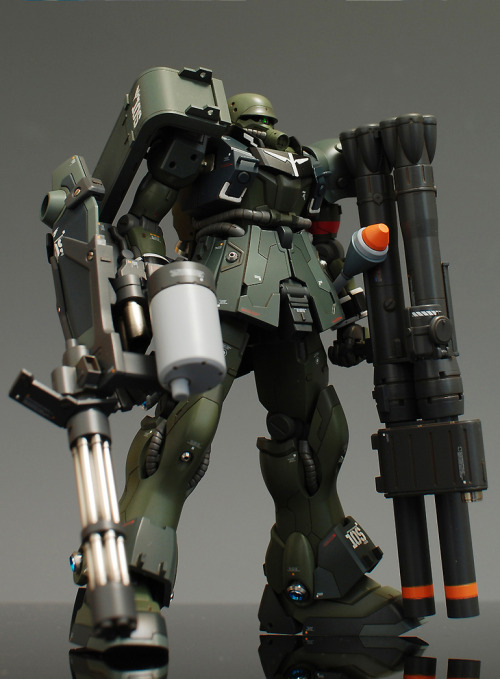 mrrobotto:  HG AMS-129 Geara Zulu customise by ghost