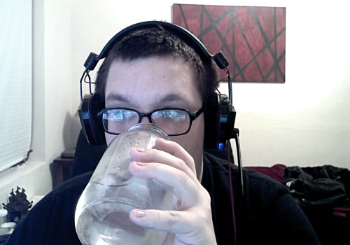 Just drinking the liquids