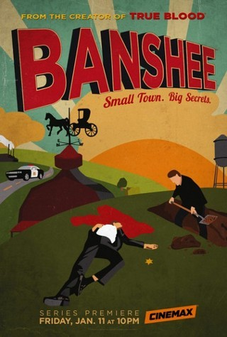 "I'm watching Banshee    ""S01E05""                      33 others are also watching.               Banshee on GetGlue.com"