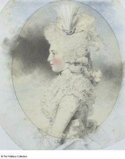 Isabella, 2nd Marchioness of Hertford, as Lady Beauchamp  by John Downman, 1781
