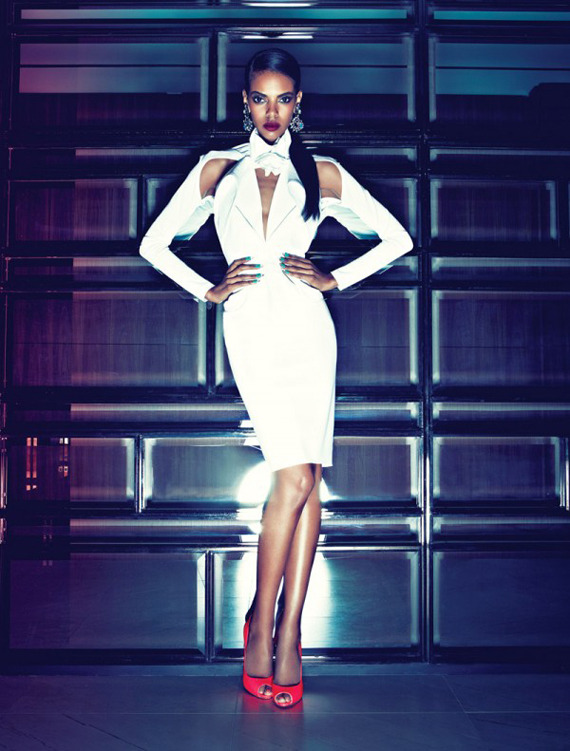 "blackfashion:  Grace Mahary featured in ""Designs of Spring"" for Fashion Magazine Canada February 2013 issue. Photographed by Gabor Jurina  Need This"