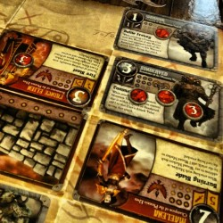 Summoner Wars - Hilary (Phoenix Elves) def Chris (Mountain Vargath)