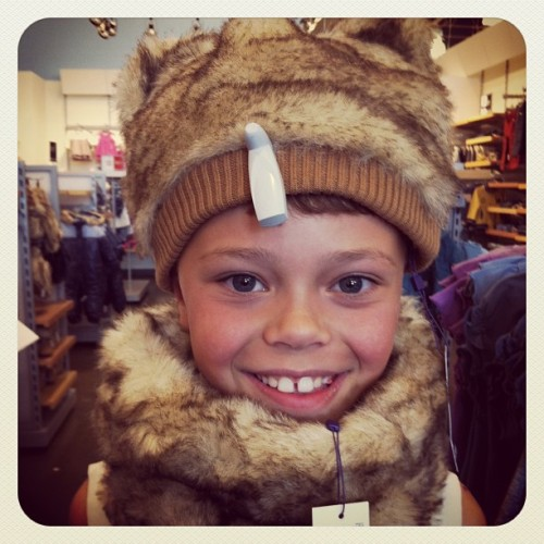 You try to take a boy shopping and this is what you get… #kids #shopping #parenting #Mexx
