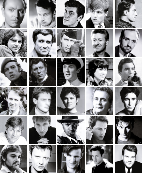 tennantbutt:  iwishyouhadnt:   Doctor Who boys.  CHRIST