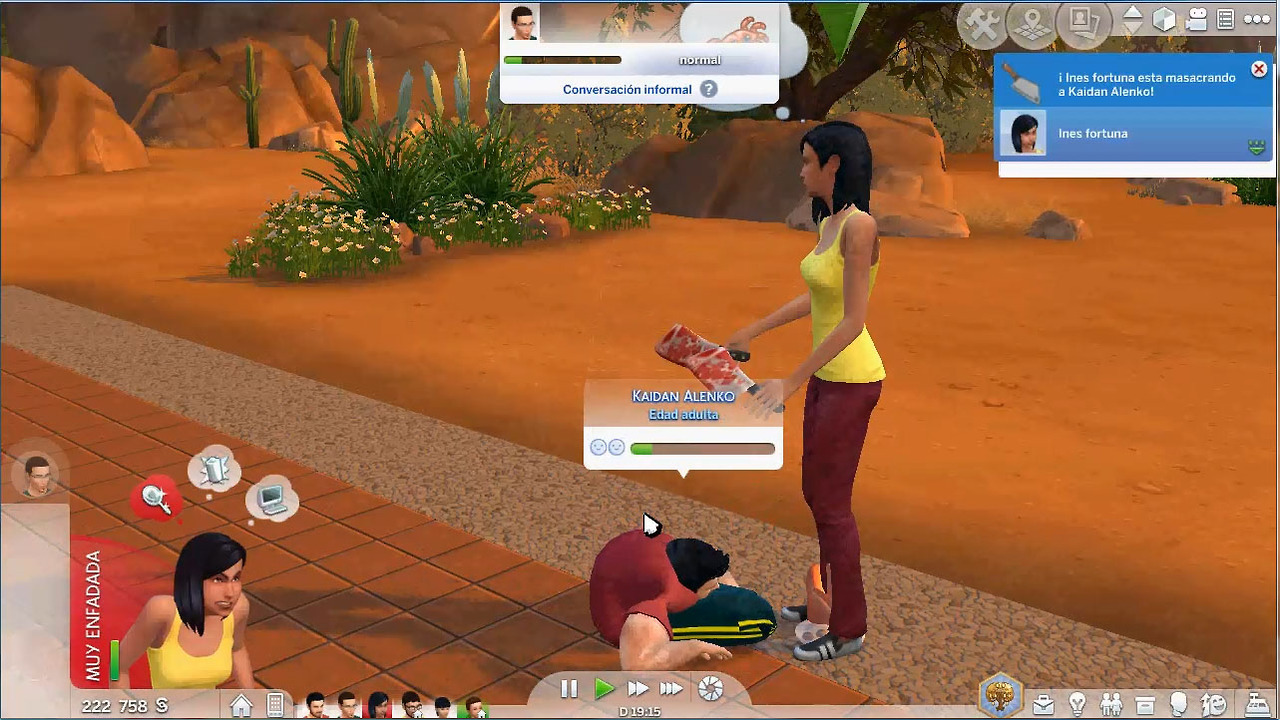 Cannibal mod the sims 4 download simsdomination for Mods sims 4 muebles