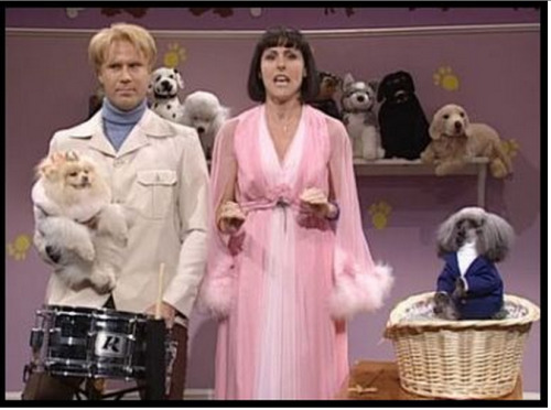 """lesbowie:  """"Sometimes I think that our love is dead because you like men, Mr. David Larry."""" """"Maybe I do… and maybe I DO!""""  DOG SHOW"""