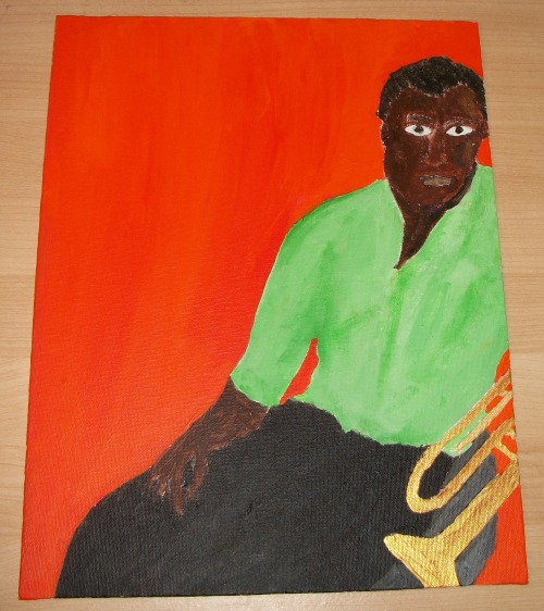 Hey everyone! I've just posted my series of Jazz Musicians and Singers on my art website, and they're all for sale at very affordable prices. Come take a look by clicking the image.
