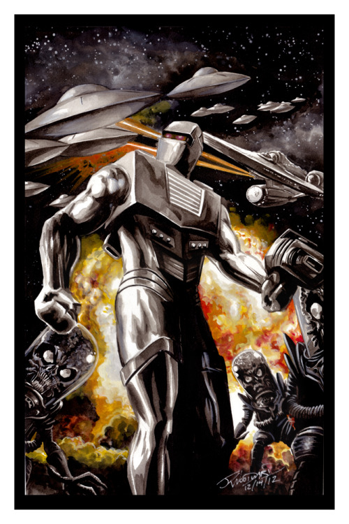 xombiedirge:  ROM: Spaceknight by J.K. Woodward