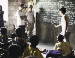 One Direction in Ghana for Comic Relief Red Nose Day