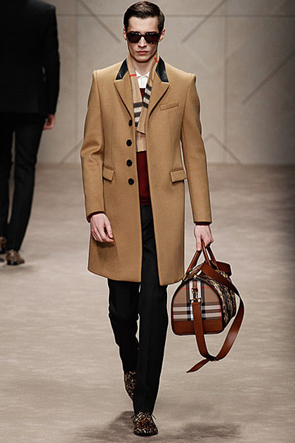 Adrien Sahores for Burberry Prorsum Menswear F/W 2013