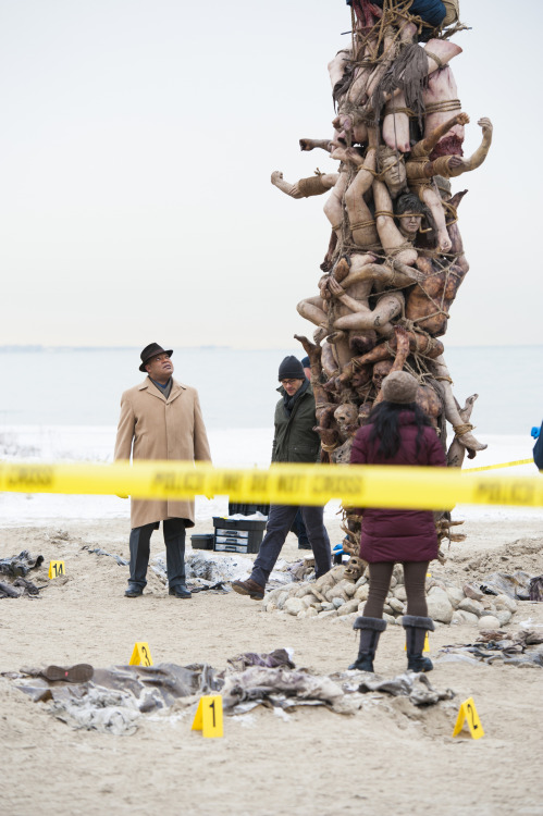 willliamgraham:  nbchannibal:  An early preview of Trou Normand.  #Guys I think the tower might be people