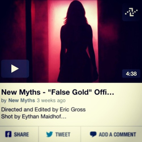 1,111 views of @newmyths #falsegold and counting! Head over to Vimeo and check it out! #thankful #nyc #music #musicvideo #girlband