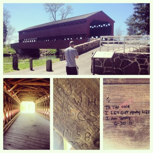 Most haunted bridge in Gettysburg, Sachs Covered Bridge #BucketList