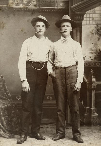 kenhatter:  Portrait of Men with Cigars by Wisconsin Historical Images on Flickr.