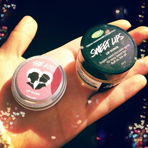 New lippies ☺💋 #lush